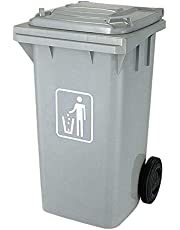 Waste Bin size 120 L color gray