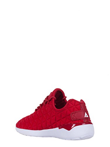Asfvlt SPEED SOCKS sneakers donna, tessuto, lacci, rosso