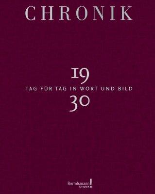 Chronik Jubiläumsband 1930