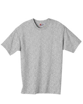 Hanes Blue Oxford (Hanes Adult Comfortblend Ecosmart Tee (Oxford Gray) (XL))