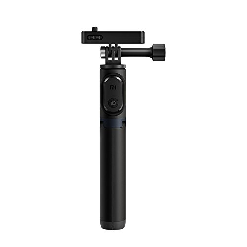 Original Xiaomi Mijia Mini Camera Selfie Stick Tripod 360 Rotation Panoramic Monopod Holder with Bluetooth 3.0 Remote Controller Only For Mi 4K Action Camera/Waterproof Case