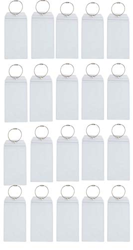 Cruise Luggage E-Tag Holders, 20-Count, Waterproof Zip Seal and Steel Loops (Dreams About Being On A Cruise Ship)