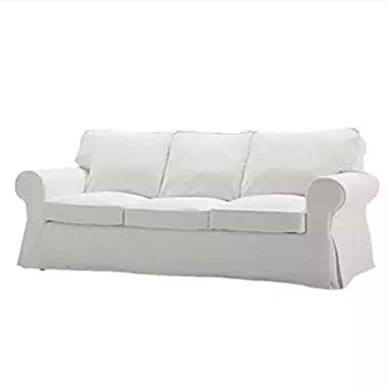 Replace Cover For IKEA Ektorp Three Seat Sofa, 100% Cotton Sofa Cover For  Ektorp