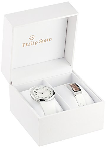 Philip Stein Unisex PS-DAYNIGHT4 Stainless Steel Watch Set