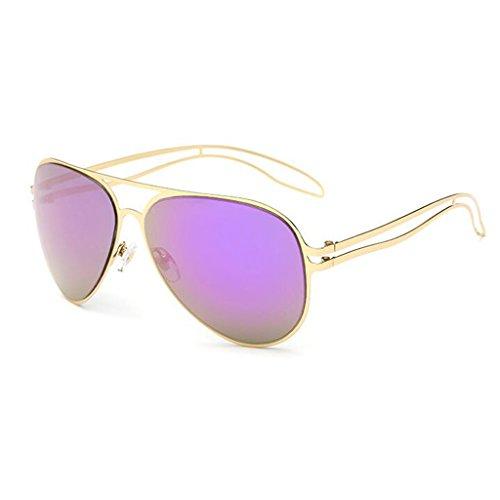 De Gafas Purple Reflexivo Color A Metal HOME Y Color Película Purple Sol Europa QZ Tableta América wZPCEq5xa