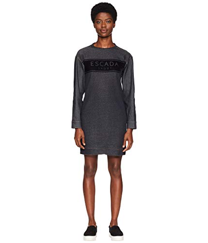 Escada Sport Women's Denim Dress Dark Blue 36