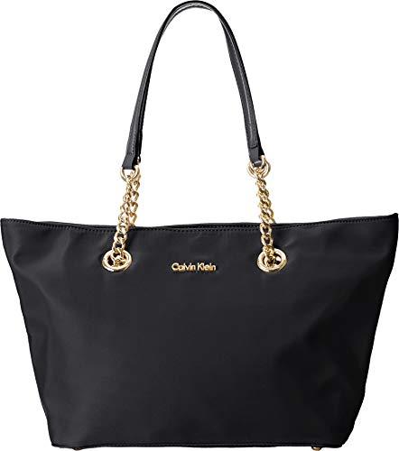 Calvin Klein Key Item Chain Nylon Tote