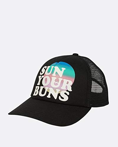 2b847f680 Billabong Women's Sun Your Bunz Hat, Off Black, ONE - Import It All