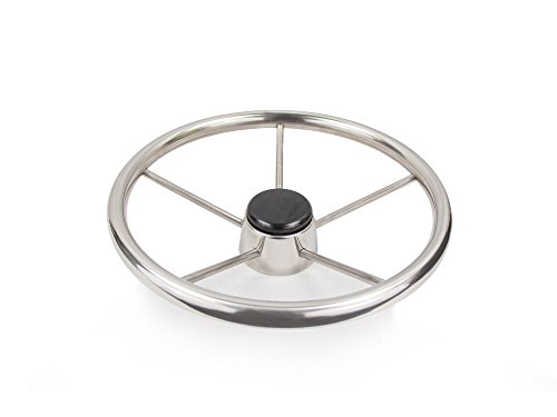 Five Oceans Destroyer Style Boat Steering Wheel w/Tapered Shaft - BC 580 by Five Oceans