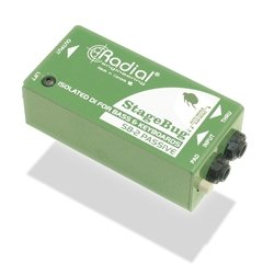 Radial StageBug SB-2 1-channel Passive Instrument Direct Box by Radial