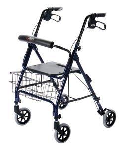 Step N Rest Rollator - Carex Health Brands A22300