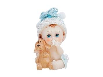 Tortenfigur Junge Baby Mit Kuscheltier Tortendeko Windeltortendeko Taufe