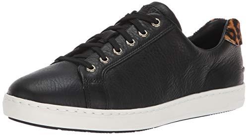 Sperry Women's Rey LTT Sneaker, Black/Leopard Pony, 8 M ()