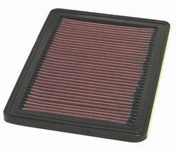 K&N ENGINEERING 33-2521 Air Filter; Panel; H-0.813 in.; L-7.375 in.; W-10.625 in.;