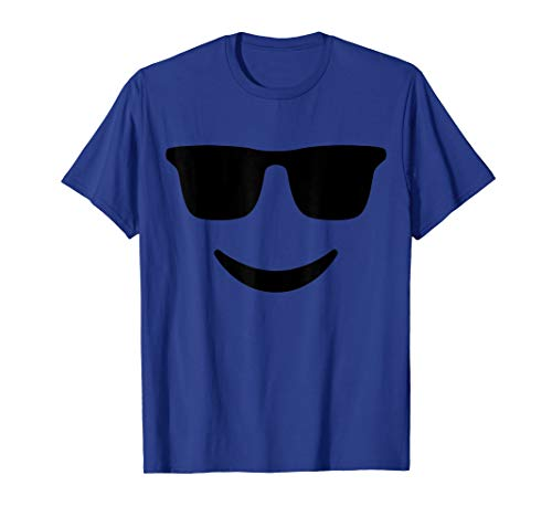 (Emoji TShirt With Sunglasses and a Smile)