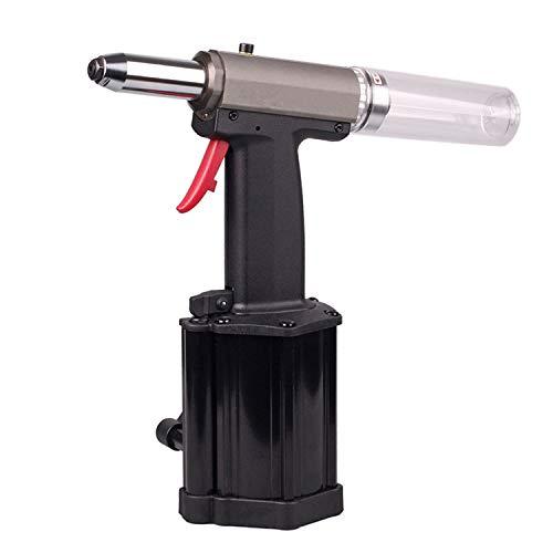 ZHONG AN Heavy Duty Air Rivet Gun-Air Hydraulic Riveter Riveting Tool Powerful Pulling Light Weight Low Vibration Much Quieter