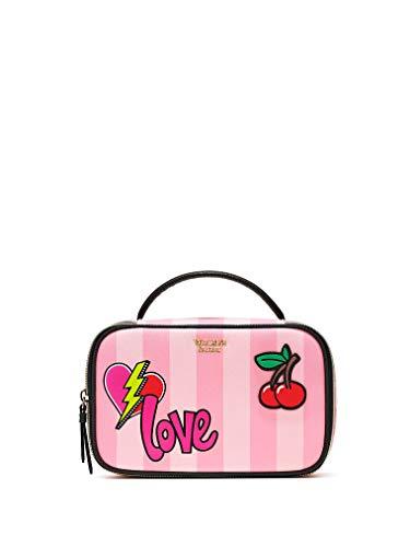 Victoria's Secret Cosmetic Bag Patch Small Train Case
