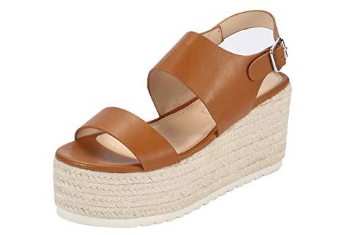 Sofree Women's Ankle Strap Wedge Plaform Espadrilles Heel Sandals ... -