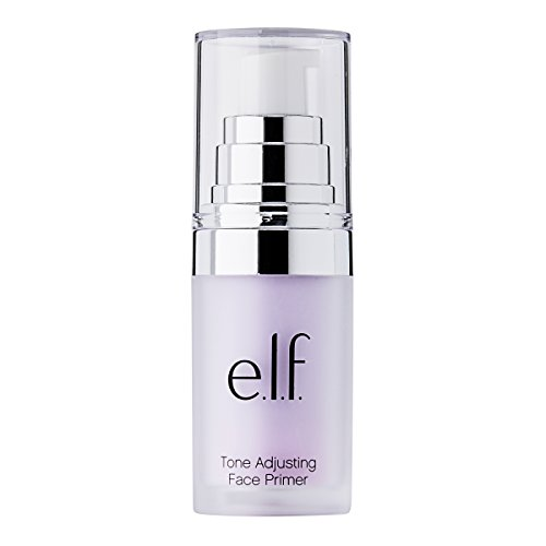 e.l.f. Studio Mineral Infused Face Primer, Brightening Lavender, 0.47 Ounce