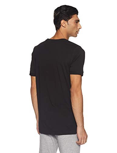 Style Puma Black Athletic Homme Cotton T Maglietta Shirt 5RqAFan