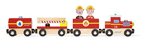 Janod Story Train Firefighter Train