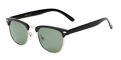 Sunglass Warehouse   The Harlem Sunglasses - Browline - Metal & Plastic Frame - Men & - Emo Glasses Frames