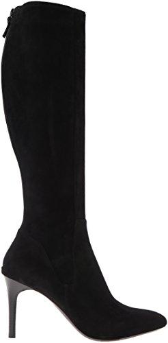 Cole Haan Femmes Narelle Slouch Boot Noir / Daim Noir
