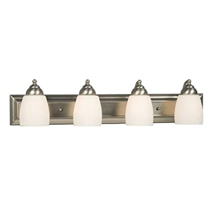 Galaxy Lighting 724134BN 4 Light Barclay Bathroom Light - Vanity ...