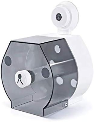 バスルームキッチンリビングルームベッドルームパンチフリーのトイレットペーパーホルダーパーソナリティクリエイティブ大型ロールトレー防水ラックウォールマウント