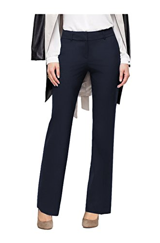 navy blue dress pants for women - 5