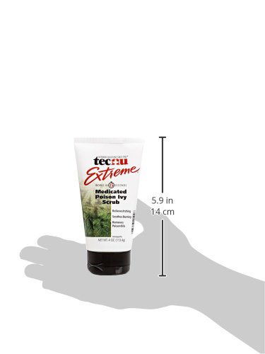 Tecnu Extreme Poison Ivy & Oak Scrub—Removes Toxin from Skin that Causes Poison Ivy and Poison Oak Rash, 4-ounce Tube by Tecnu (Image #9)