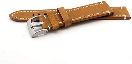 Bracelet De Montre en Cuir Vintage Daim, Cuir VéRitable Bracelet Bande, Bande De Bracelet Montre, Bracelet Montre Cuir Hommes, Bracelet De Montre De Cuir pour, Cuir Bracelet Montre Homme