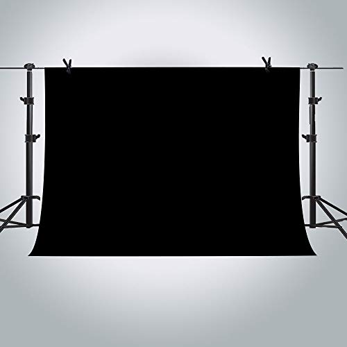 MME 10x7ft Black Photo Video Photography Background for sale  Delivered anywhere in USA