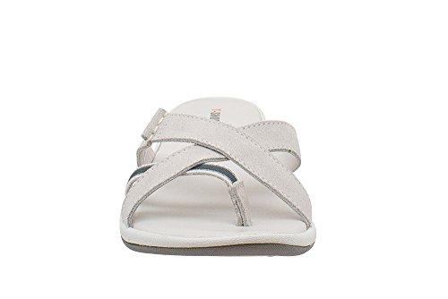 TS020 suede Minorca Shoes Blanc Sandale T en w5XnE4pH4q
