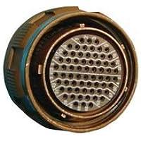 SOURIAU D38999/26FB98SN CIRCULAR CONNECTOR PLUG, SIZE 11, 6POS, CABLE
