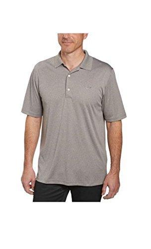 Greg Norman Signature Series Mens ML75 Play Dry Performance Polo Shirt (Medium, Grey Heather) (Greg Norman Apparel)