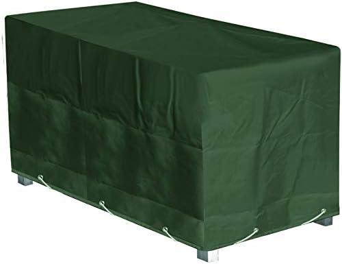 Green Club - Funda de protección para Mesa de jardín, Rectangular ...