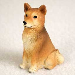 Finnish Spitz Miniature Dog Figurine