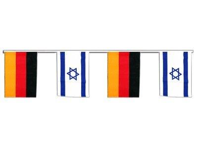 Digni Guirlande d'amitié Allemagne - Israel - 6 m Digni®
