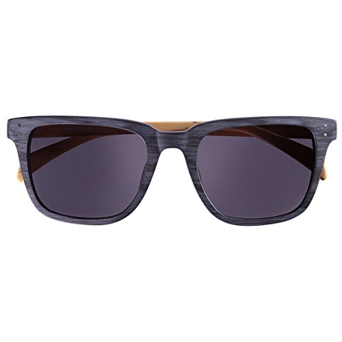Hourvun Wayfarer Style Sunglasses Classic Frame with Gray Lens Acetate - Different Sunglasses For Names
