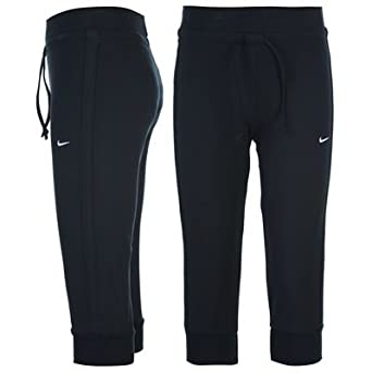 cd9ad5e34f9b Nike Cuffed Capri Bottoms Ladies  Amazon.co.uk  Clothing