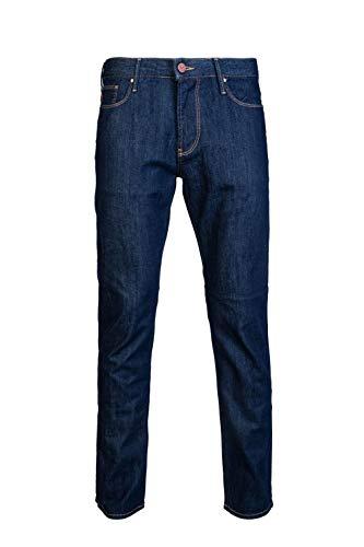 Emporio Armani Mens Slim Jeans 3G1J06 1D5QZ Size 30/30 Blue