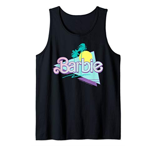 Barbie 90'S Barbie Logo Tank Top ()
