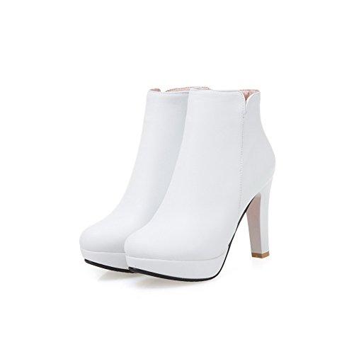 AdeeSu Plateforme 5 Blanc Femme 36 Sxc02659 Blanc TTHxBwUg