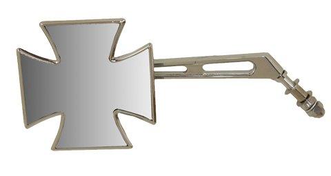 Emgo Mirror L M/Cross H/D 20-34862A (Maltese Cross Mirror)