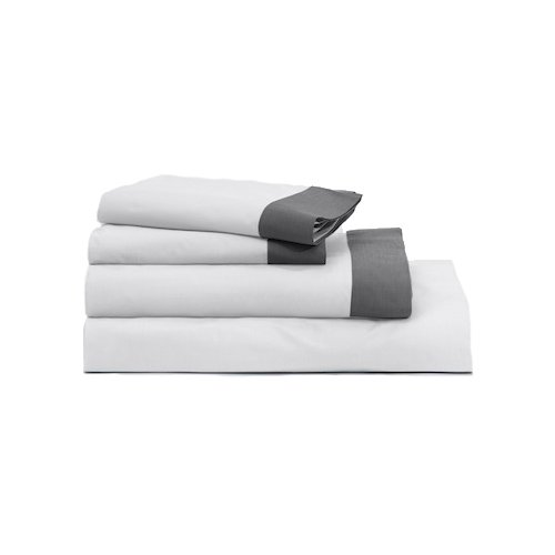 The Casper Sheet Set - King White/Gray