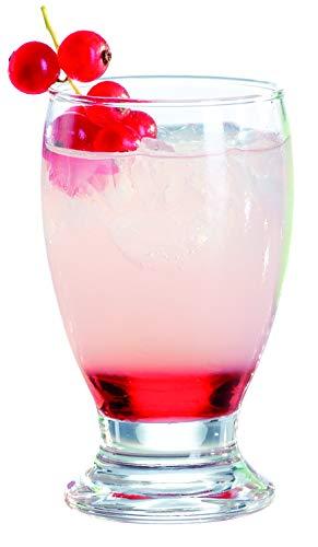 IMPULSE! Monta Stemless Goblet Glass, Set of 6 ()