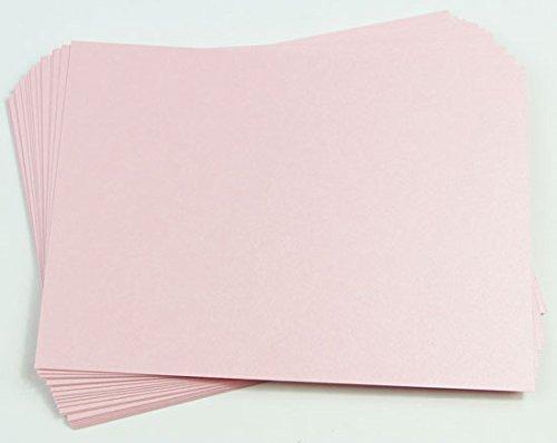 Stardream Rose (Rose Quartz Metallic Paper, 8 1/2 x 11 Stardream 81lb Text, 25 pack)