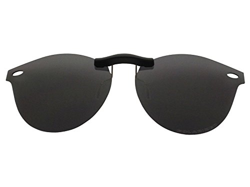 Custom Fit Polarized CLIP-ON Sunglasses For Ray-Ban RB2180V 49X21 - Affiliate Sunglasses