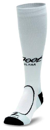 Zoot Men's ULTRA COMPRESSRx M SOCK WHITE 4 by Zoot (Image #1)